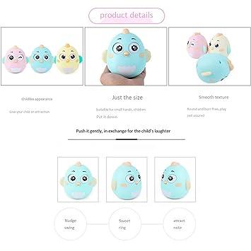 5d018639a30d9f Amazon.co.jp: Creacom だるま ボール おもちゃ ベル 知育 学習 知育玩具赤ちゃん 幼児 子ども 噛むおもちゃ 不安 ストレス解消  男の子 女の子おもちゃ 無臭無毒 長く ...
