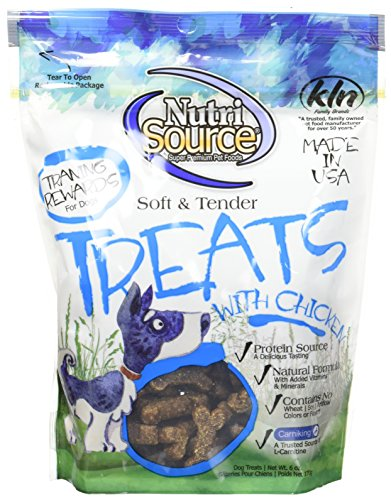 Nutri-Source Soft and Tender Treats, Chicken, 6 Ounce Per Bag