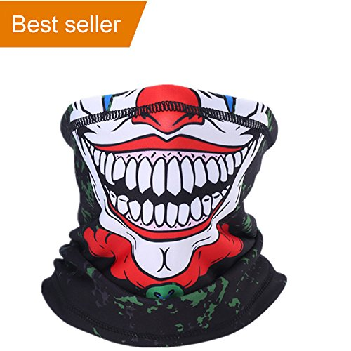 Balaclava Ski Face Mask, Motorcycle Face Masks Windproof Dust-Proof and UV Protect Face Mask, Balaclava Outdoor Mask for Out Riding Motorcycle Bicycle Fishing, Moisture-Wicking Performance Fabric]()
