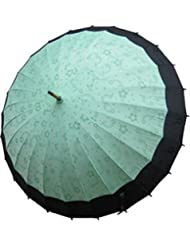 Japanese Magic Spring Umbrella; Green