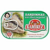 Paquet de 30 Conserves Sardines à l'Huile Végétale Ramirez 125 g