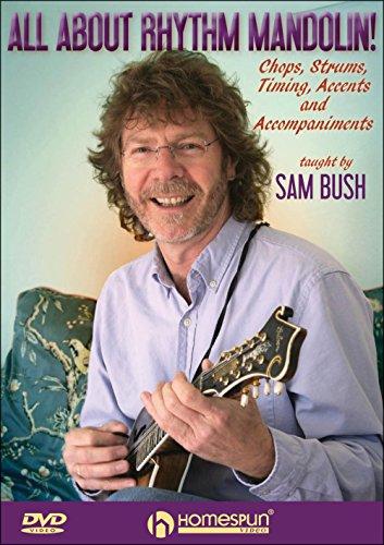 Sam Bush - All About Rhythm Mandolin (DVD)