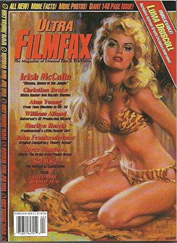 Ultra Filmfax Magazine #66 April/May 1998 Irish McCalla on the cover