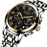 Watches Men Luxury Brand Chronograph Men Sports Wrist Watches Waterproof Date Steel Quartz Analog Men's Watch