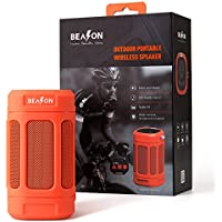 BEASON IPX4 Waterproof Portable Bluetooth Speaker with deep Bass & 15 Hours Playtime