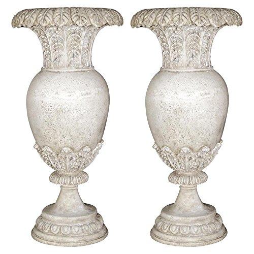 Design Toscano Versailles Floral Oviform Urn: Set of ()