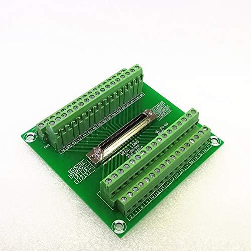 SCSI 68P MDR Female Breakout Board, SCSI Terminal Module.