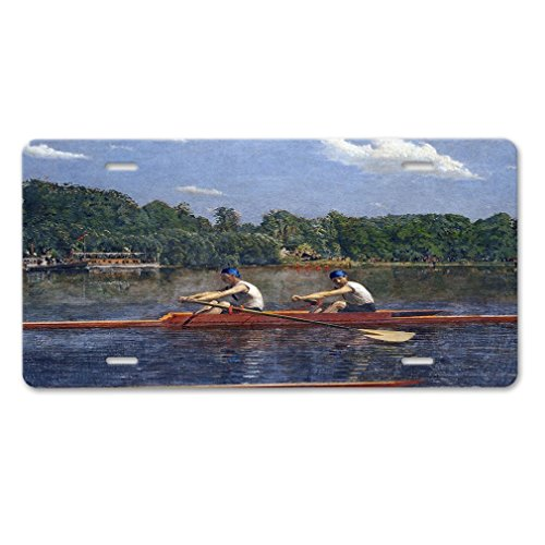 Lievon Biglin Brothers Racing (Thomas Eakins) Car Aluminum License Plate