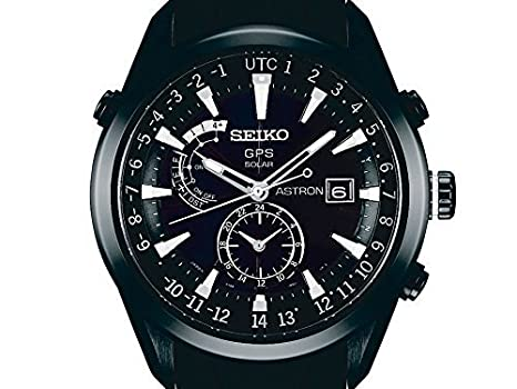 Seiko Astron Satellite Solar GPS Silicon Band Sapphire glass SBXA011(Japan Import)