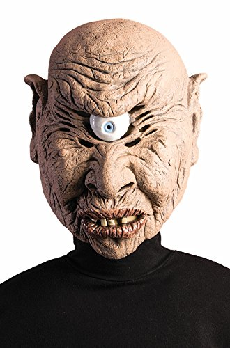 Greek Mythical Creatures Costumes (Forum Novelties Mythical Creatures Cyclops Adult Mask-Standard)