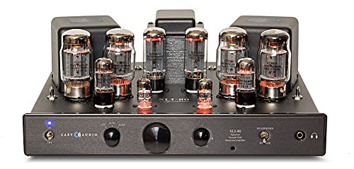 Cary Audio SLI-80 Integrated Tube Amplifer (Black) Cary Audio