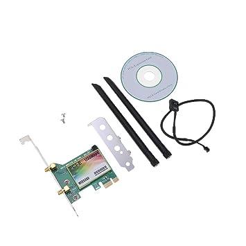 perfk Tarjeta De Red Inalámbrica Bluetooth Ethernet PCI-E ...