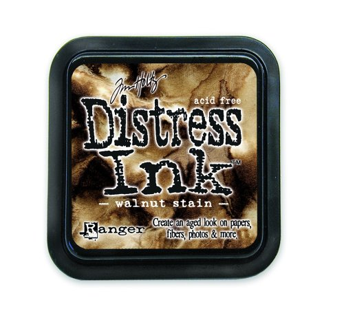 Ranger Tim Holtz Distress Ink Pad, Walnut Stain (Tim Distress Ink)