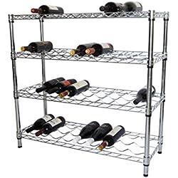 Trinity EcoStorage 4-Tier NSF Wine Rack