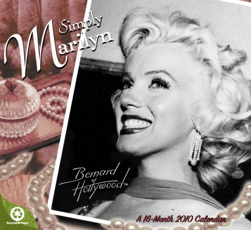 Marilyn Monroe 2010 Wall Calendar