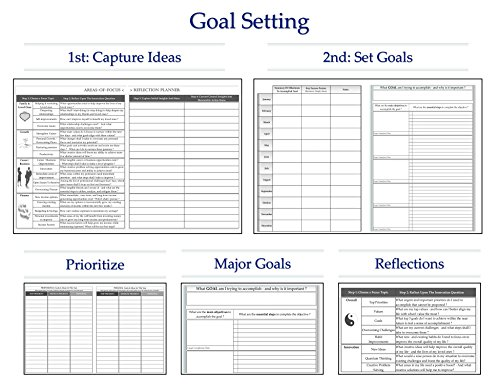 amazon com tools4wisdom monthly planner calendar goals