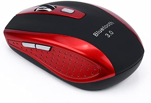 2.4G Wireless Mouse 2400DPI Bluetooth 4.0+3.0 Optical Gaming Mice for PC Laptop