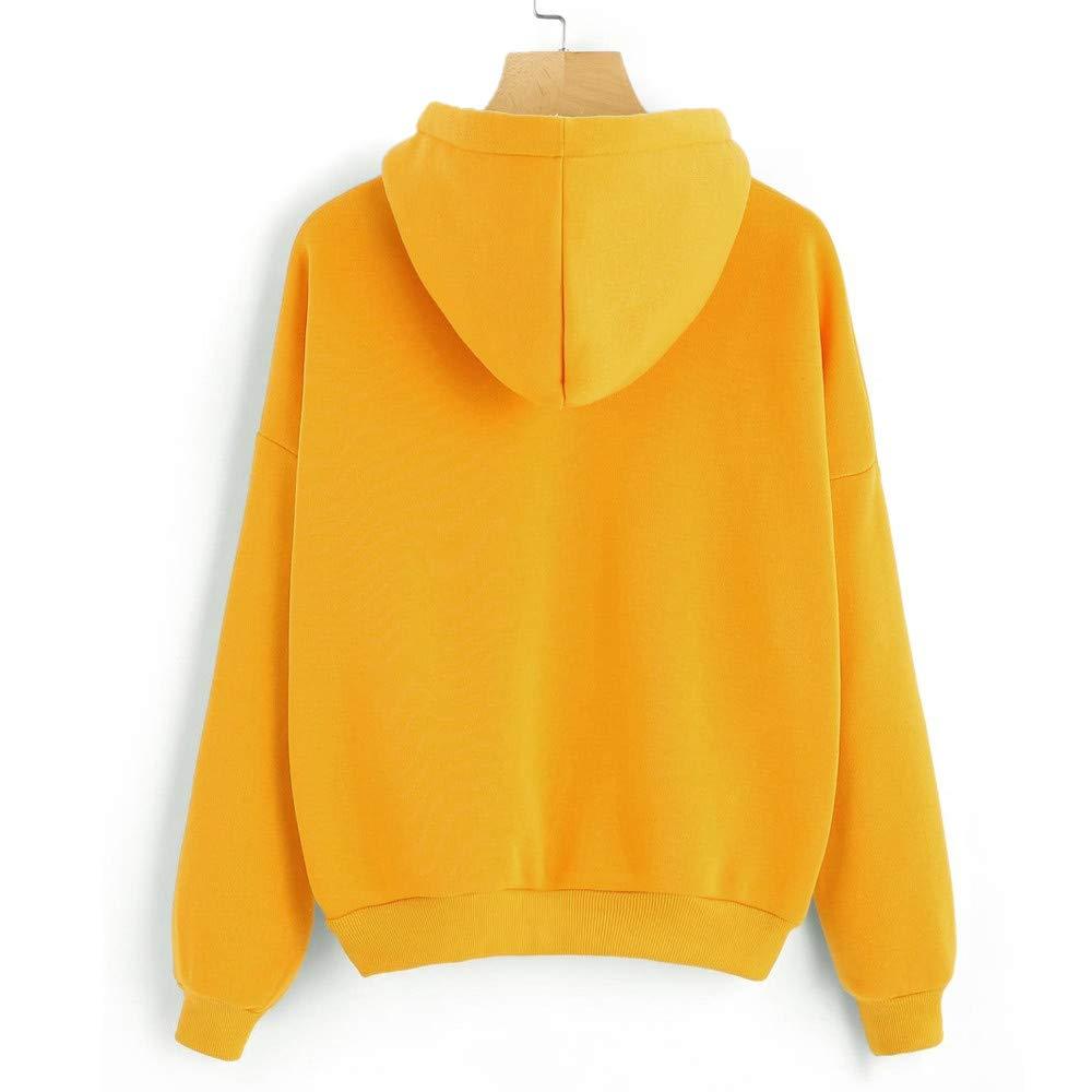 MISYAA Hoodies for Women Long Sleeve Finger Heart Print Hoodie Hooded Sweatshirt Chic Coat Besties Gifts Womens Tops