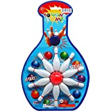 Arcady 11PC 3'' Bowling Play Set ON Blister Card, Case of 48
