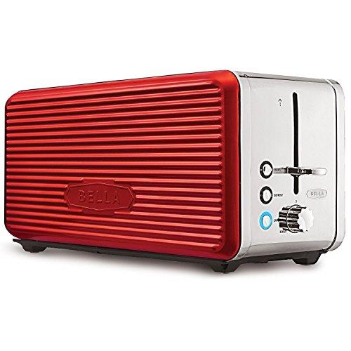 Sensio Linea 4 Slice Toaster Red