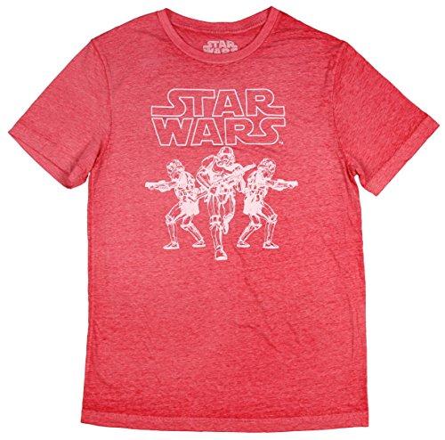 (Star Wars Storm Trooper Soldier Outline Mens T-Shirt)