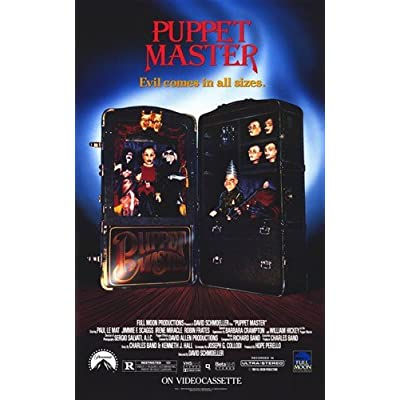 ArtFuzz Puppet Master Movie Poster 11 X 17 inch: Home & Kitchen