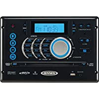 JENSEN AWM968 JENSEN AM/FM/CD/DVD/USB Bluetooth Stereo, Front USB supports MP3/WMA, DVD Player CD, CD-R, CD-RW, DVD/DVD+R, DVD RW, DVD-R, DVD-RW, DVD-Video, MPEG-4, VCD, JPEG and MP3/WMA Compatible