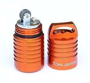 Numyth Tohil v2 Watertight Fluid Lighter (Ember Orange)
