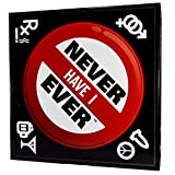 Never Have I Ever: Fun Party Board Game for College Reunions Fraternities Sororities Bachelor Bachelorette 21st Birthday Parties