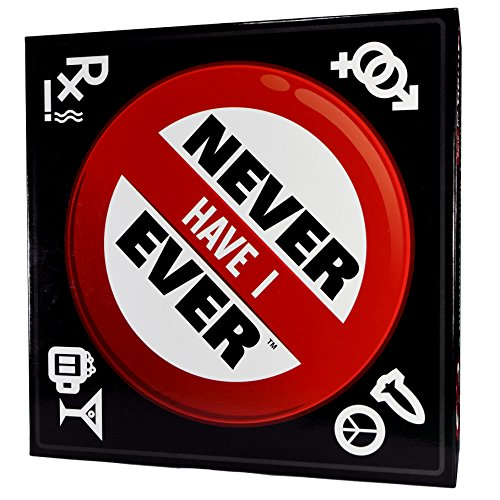 Never Have I Ever - The Classic Drinking Board Game for Adults - Great Game for a Party or Weekend Night (Telestrations Game Board)