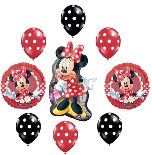 LoonB (Red Minnie Party Supplies)
