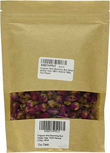 Dried Rose - Fragrant Wild Blooming Bud Roses Herbal Teas 100% Natural 100g Tea Flower