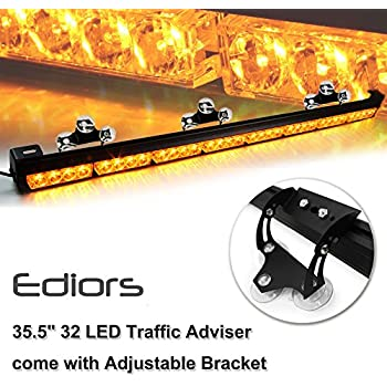 Amazon Com Ediors Auto Truck 35 5 Quot Led Traffic Adviser