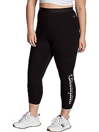Champion Womens Plus-Size Authentic 7/8 Legging Leggings