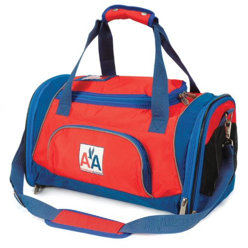 Sherpa American Airlines Duffle Dog Carrier Bag, medium Red, My Pet Supplies