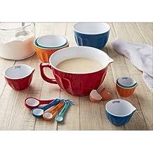 Mix and Measure Ceramic Bowl Set, 12-Piece