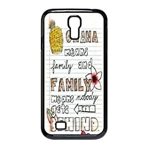 DIY case Cute Ohana means family PC material phone protective cover For SamSung Galaxy S4 Case XFZ387509