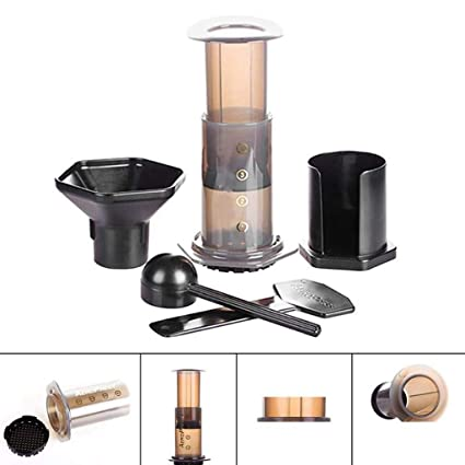 Amazon.com: Portable Pressed Coffee Pot Coffee Filter Hand ...