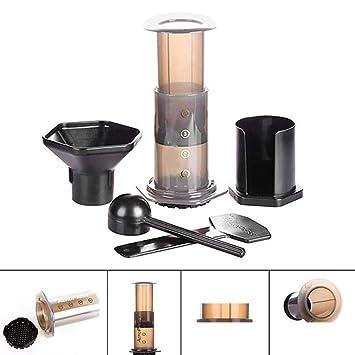 Amazon.com: Portable Pressed Coffee Pot Coffee Filter Hand ...