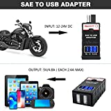 LEICESTERCN SAE To USB Adapter Motorcycle USB
