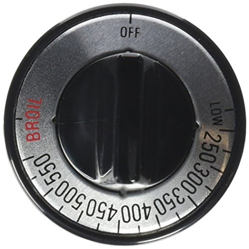 Lux Products #CPR407 Black Gas Oven Knob
