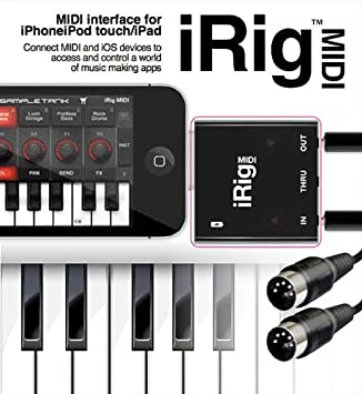 IK Multimedia iRig MIDI Interface for IOS Devices: Amazon co
