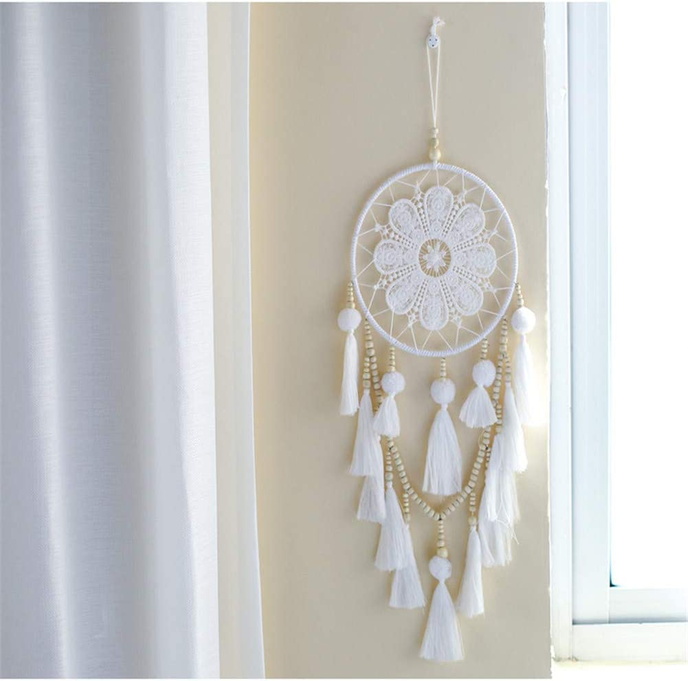 Wall Hanging Handmade Woven Dream Catcher for Kids Home Room Decor Decoration Ornament Craft Gift Macrame Dream Catchers for Bedroom