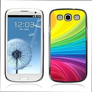 Carcasa Funda Case // V0000409 Abstract Rainbow Background // Samsung Galaxy S3 i9300