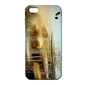 Iphone 5 5s SE Case,Sand Case,Classical Sand Painting Series Custom Printed 3D Hard Plastic Phone Cover Fit Iphone 5 5s SE