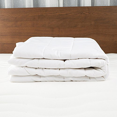 LilySilk Washable Silk Filled Mattress Topper Twin 100% Silk Filling Mattress Pad Mattress Cover Protector, 16