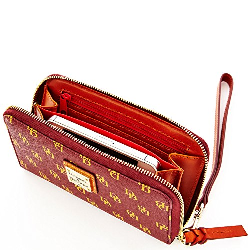 Phone Around Gretta amp; Bourke Zip Wristlet Dooney w1qXT6w