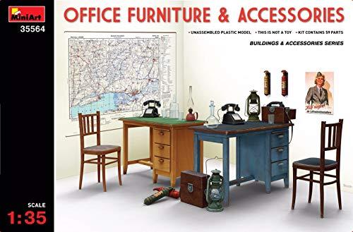 MiniArt Office Furniture & Accessories 1/35 35564 2