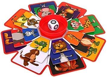 BSD Juego de Mesa Juego de Tablero - Rompecabezas Giratorio: Amazon.es: Juguetes y juegos