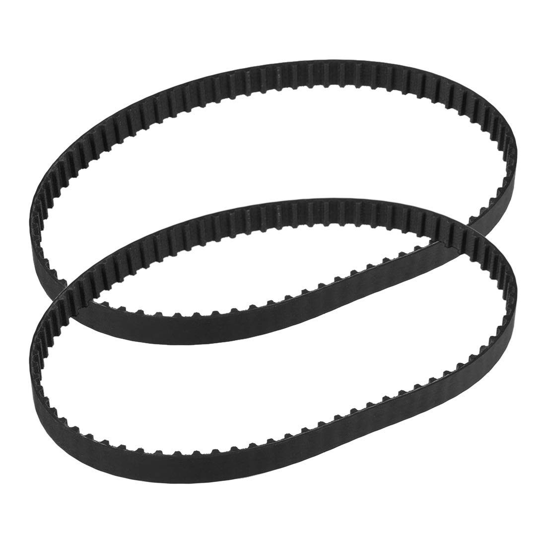 sourcing map 170XL Rubber Timing Belt Synchronous Closed Loop Belt Timing Pulley Tools 10mm Width
